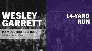 "Wesley Garrett's (Mukilteo, WA) Video ""14-yard Run vs Monroe "" | MaxPreps"
