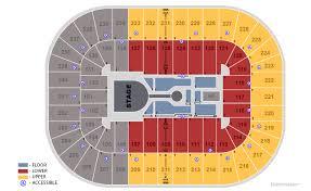 Greensboro Coliseum Detailed Seating Chart Casting Crowns Hillsong Worship Elevation Worship Usa