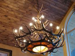 whitetail deer lamps vintage chandelier chandelier accessories antler ceiling light fixtures