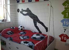 Soccer Bedroom Decoration Is Perfect For Little Boys   Decor Art