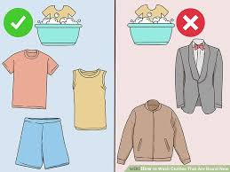 How To Wash Clothes That Are Brand New With Pictures  WikiHowHow To Wash Colors
