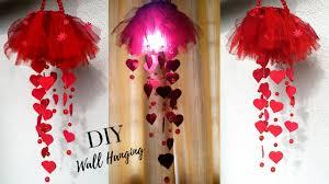 new diy heart wall hanging craft ideas for room decoration diy wall decor by maya kalista