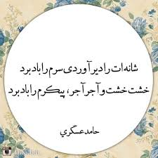 Image result for ‫ســرم را بــــاد برد‬‎