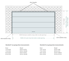 garage door sizes chart typical bedroom door size 2 car garage door dimensions standard standard interior