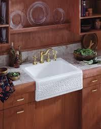 Apron Front Kitchen Sink White Kitchen Dining 24 Design Apron Sink For Kitchen Design