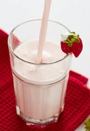 a milkshake without ice cream