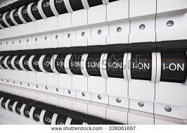 fuse ภาพสต็อก ภาพและเวกเตอร์ปลอดค่าลิขสิทธิ์ shutterstock new type trip switch fuse box all switches are on position electricity