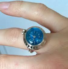 vintage seiko ring watch ring