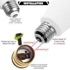 3 Way Light Lamp Lohas Led 3 Way Light Bulbs 50 100 150watt Equivalent Led 3 Color Daylight Soft Netural White Light Bulb 8 10 18watt 800 1000 1800lumen Light
