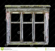 Old Window Frames Old Wooden Window Frame Isolated Stock Photo Image 46976207