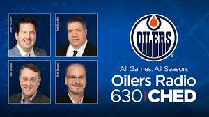 Oilers entertainment group (oeg) is a company based out of edmonton, alberta, that operates katz group of companies' sports and entertainment offerings. Release Oilers 630 Ched Celebrate 25 Year Partnership