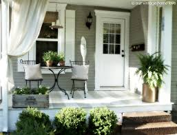 front patio ideas on a budget. Back Porch Ideas That Will Add Value Appeal To Your Home Side Front Patio On A Budget L
