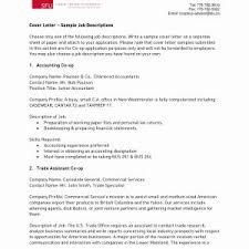 Cover Letter Sample For Accountant Assistant Save Accounting ...