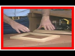 how to make a picture frame out of wood