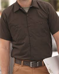 Red Kap Work Shirts Size Chart