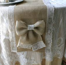 new popular items for burlap and lace table runner on runners mh53