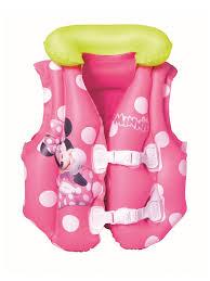 30% <b>Bestway Жилет надувной</b> плавательный с воротом Mickey ...