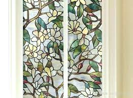 stained glass window cling appliques stained glass window clings material pet size width length is one