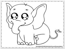 Small Picture E Is For Elephant Coloring Page Free Printable Elephant Coloring