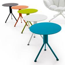 b b italia husk round small table