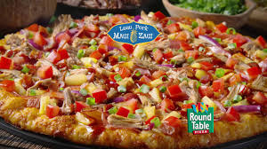 round table pizza luau pork maui zaui pizza magic