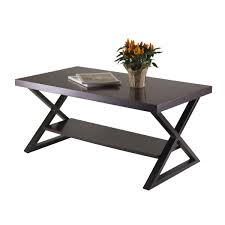 ... Ideas To Decorating Living Coffee Table, Excellent Black Rectangle  Modern Laminated Wood Coffee Table Legs With Storage Idea To ...
