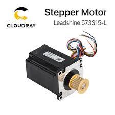 <b>Leadshine 3</b>-phase Digital Stepper Motor 573S15-L 24 Teeth 5.8A ...