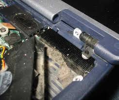 troubleshooting laptop power problems fan lint picture