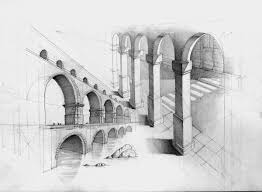 architectural drawings of buildings. 19-Arcade-Study-Łukasz-Gać-DOMIN-Poznan-Architectural- Architectural Drawings Of Buildings W