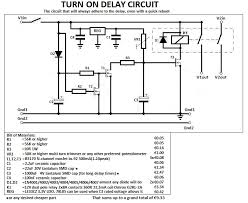 12v time delay relay circuit time delay relay circuit schematic