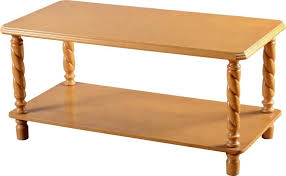brunton long john coffee table antique pine