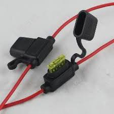pcs fb u type black plastic case cable fuse holder block for 20pcs fb 045u type black plastic case cable fuse holder block for auto car 8z403