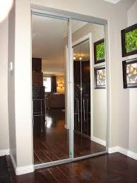image mirrored closet door. Sliding Mirror Closet Door Frame Bedroom Two Panel Mirrored Wardrobe Image R
