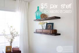 Best Place To Buy Floating Shelves Quick Easy Budget Friendly DIY Floating Shelves 1