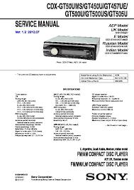sony cdx gt500, cdx gt500ee, cdx gt50w, cdx gt550 service manual Sony Cdx Gt500 Wiring Diagram cdx gt450u, cdx gt457ue, cdx gt500u, cdx gt500us, sony cdx gt300 wiring diagram