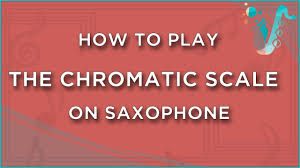 Mini Lesson How To Play A Chromatic Scale On Saxophone