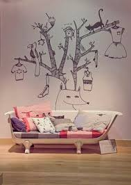 how about this wall mural in a childs room such whimsy casa kids nursery furniture