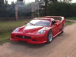 The composite body features 85 pieces made from either fiberglass, kevlar, or carbon fiber covering a custom tubular chassis with a steel floor and firewall. Ferrari F40 Replica Kit Car Of These Kit Car Replicas Http Sportscarx Com Kit Cars Kit Cars Replica Car Fails