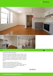 2/109 Crystal Street Street Petersham, NSW Studio with utilities included ! Effie  Warren