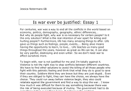 is war ever be justified a level general studies marked by  document image preview