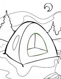Small Picture Camping Coloring Pages Campfire In Campfire Coloring Page itgodme