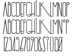 Cool Fonts Yaroslav