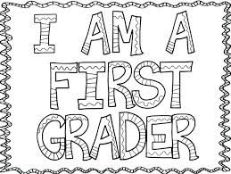 first day of school coloring pages page trends book grade last pdf