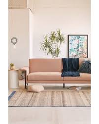 pink sleeper sofa. Unique Sofa Madeline Sleeper Sofa  Pink At Urban Outfitters And