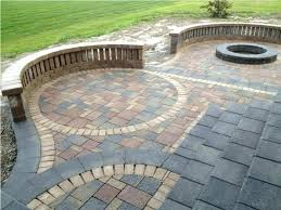cost to install paver patio architecture brick patio cost popular magnificent design on architecture remodelling lovely