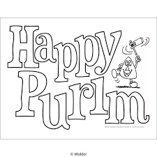 Daring Purim Coloring Pages Com Discover All Of 2102