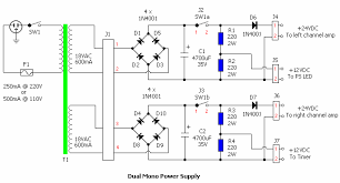 similiar v power supply circuit keywords schematic diagrams comments off on dual power supply 24v and 12v
