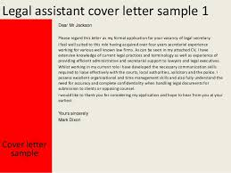 sample cover letter legal cover letter to a recruiter the letter ...