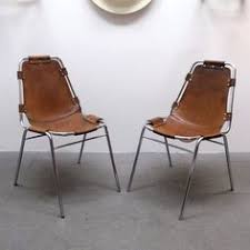 set of six charlotte perriand stacking chairs les arcs france 1960 modern dining room