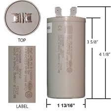 weg capacitors 40 mfd 400 volt weg run capacitor